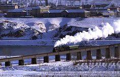 世界の蒸気機関車<朝鮮民主主義人民共和国(吉林省 集安-北朝鮮 満浦)>
