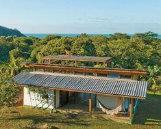 Um refúgio econômico e ecológico na praia - Casa