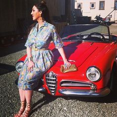 Vintage fashion shoot with La Clotherie Consulting. #vintage #convertible #womensfashion #style #fashionblogger #laclotherie #consulting #stylist #bayarea #sanfrancsico #makeupartist