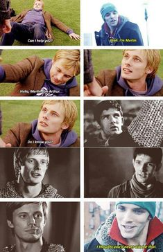 Why can we not have this, BBC? Why?! *Sad face*>>OH MY GOD MODERN MERLIN THIS NEEDS TO BE CANON!! BBC!!!!