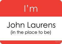I'm John Laurens