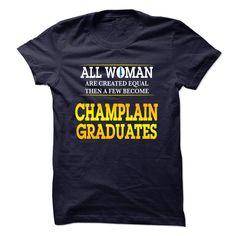 Champlain College Graduates For Woman T Shirt, Hoodie, Sweatshirt
