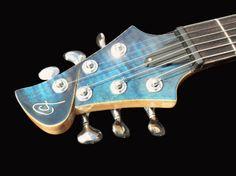 AF Guitars Sakura headstock