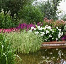 How to Build a Garden Pond and Waterfall  By Melanie L. Marten:  Build a Garden Pond and Waterfall. Creating a backyard garden pond with a waterfall is a challenging landscaping project. However, the finished result will add beauty and relaxation to your yard and garden. Instructions Things You'll Need:   Shovel,   Pick (optional)  Garden hose,   Pond liner,   Sand (optional)  Pond sub-liner cloth,   Pond pump,   Pond filter,   Flexible water tube or line,   Landscaping rocks. 1 Choose a…