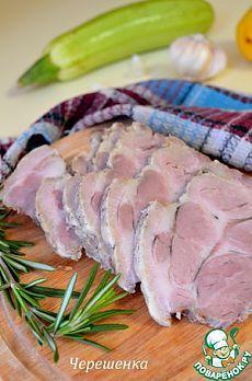 Свинина, тушеная в рукаве в мультиварке - кулинарный рецепт
