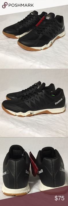 Reebok Women's Crossfit Speed TR Training Shoes Reebok Women's Crossfit Speed TR Training Shoes  Black / White / Gum in color  Style BD5491 Women's Size 8.5 New with original box Reebok Shoes Athletic Shoes
