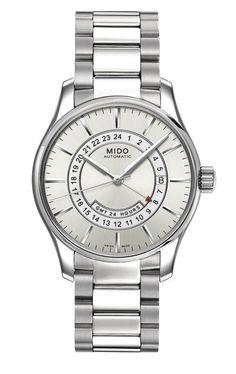 f00195a943ab MIDO Mod. BELLUNA GMT AUTOMATIC GTM 24h 40mm SWISS MADE Serial 160290  Gents. Reloj SuizoRelojes ...