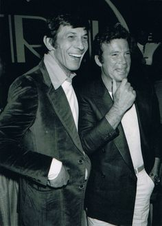 Leonard Nimoy and William Shatner promotional for Star Trek The Motion Picture. (1979-80)
