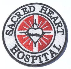 Pin for Later: Your New Jacket Is Crying Out For 1 of These Pop Culture Patches Scrubs Patch Eire Sacred Heart Hospital Patch (£4)