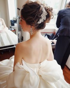 #wedding #本日はグランドハイアット東京にてブライダルヘアメイク sissiも可愛かった❤︎ hair/yukino #hairstyles #ウェディング #ヘアスタイル