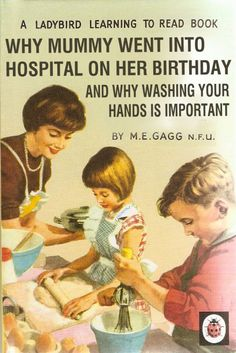 Why Mummy Went Into Hospital On Her Birthday - Classic Forgotten Ladybird Books