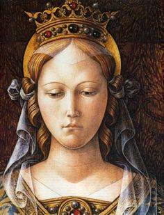 Carlo Crivelli (1435-1495) ~ Brera Gallery, Milan ~ Crivelli seems to have worked chiefly in the March of Ancona, and especially in and near Ascoli Piceno ~ He painted in tempera only, despite the increasing popularity of oil painting during his lifetime.