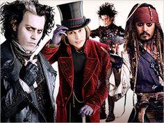 Johnny Depp es uno de los actores más versátiles gracias a expertos en caracterización y maquillaje.