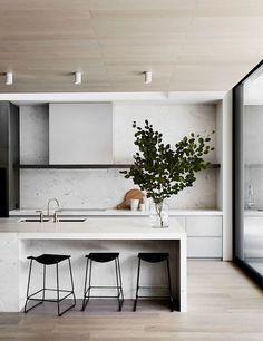 Mağazam – Just another WordPress site - 65 Gorgeous Modern Scandinavian Kitchen Design Trends - Kitchen Room Design, Home Decor Kitchen, Interior Design Kitchen, Home Kitchens, Kitchen Ideas, Kitchen Inspiration, Diy Kitchen, Kitchen Hacks, Kitchen Wood