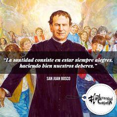La santidad según Don Bosco  https://instagram.com/p/BCqUJLZiZyx/
