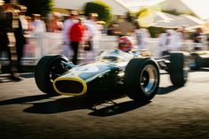 Tiff Needell - 1967 Lotus 49 at the 2016 Goodwood Revival (Photo 1)