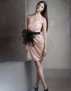 Bow tied gift (Vera Wang dress)