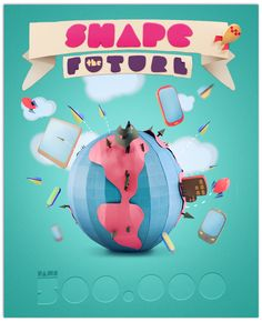 Shape The Future by Tiago Almeida, via Behance