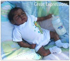 Reborn Ethnic Biracial Baby Boy 3D Lifelike Skin | eBay