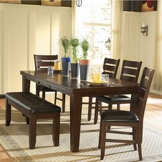 TRIBECCA HOME Camden 6 Piece Dining Set   Overstock™ Shopping   Big  Discounts On Tribecca Home Dining Sets