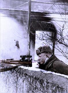 Soviet sniper 1945