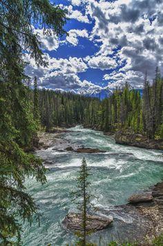 Yoho River, Yoho National Park, Canada