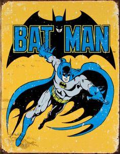 Batman Tin Sign at AllPosters.com