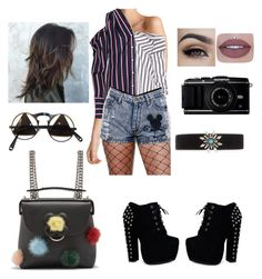 """Untitled #38"" by ralucanitescu on Polyvore featuring Monse, Fendi, CO and DANNIJO"