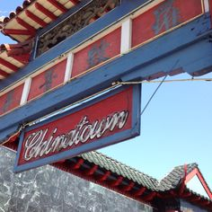 Chinatown, Los Angeles California