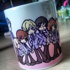 Ouran High School Host Club mug ~ so cute me wantee~