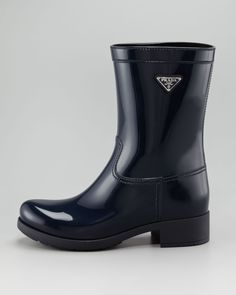 Prada Rubber ankle boot