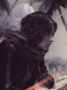 Klaatu Barada Nikto - geekynerfherder: 'Jyn Erso' by Laz Marquez,...