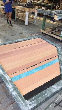 More wood grain