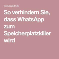 So verhindern Sie, dass WhatsApp zum Speicherplatzkiller wird To prevent WhatsApp from becoming a disk space killer Iphone Hacks, Android Hacks, Pinterest Co, Whatsapp Info, Pc System, Budget Planer, Best Smartphone, Cool Gadgets, Good To Know