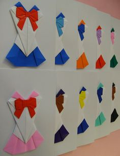 Origami Sailor Moon Complete Card Set  Handmade by DanetteBall, $80.00