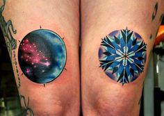 No te pierdas estos 5 tatuajes cosmicos sobre el espacio 8