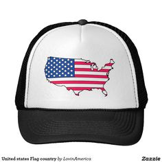 United states Flag country Trucker Hat