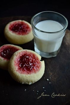 Rice flour jam cookies | Thumbprint cookies | Gluten free recipe | kurryleaves
