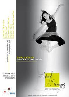 GAP - 10 février - De 14h15 à 17h30 - Stage découverte de danse-contact ou Contact-improvisation - Studio Avant-Scènes - Tarifs : 12€