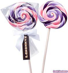 Purple and Pink Lollipop for party