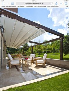 Suntech Architectural Retractable Pergolas Are Suitable For All Weather  Conditions