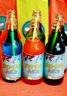 {Bright & Fun} Scooby Doo Birthday Party! Jeepers Juice