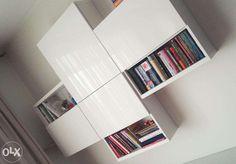 besta ikea wiszaca - Szukaj w Google Ikea Living Room Storage, Ikea Storage, Wall Storage, Living Room Decor, Tv Furniture, Furniture Design, Small Workspace, Decoration, Family Room