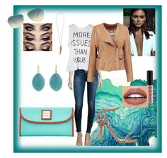 """""""Water and Stones"""" by tropicalhaven ❤ liked on Polyvore featuring Hudson, GEDEBE, Roberto Cavalli, Oliver Peoples, Jamie Joseph, Dooney & Bourke, NYX, Chloé, women's clothing and women"""