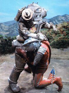 Ultra Seven x King Joe Ultra Series, Robot Cartoon, Japanese Monster, Showa Era, Sci Fi Shows, Old Tv Shows, Power Rangers, Godzilla, Nostalgia