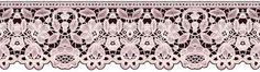 ArtbyJean - Images of Lace: Lace Borders - A collection of lace  prints in dif...