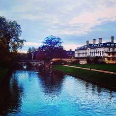 crossing the bridge to the kings college grounds [weekend wandering cambridge] King's College, Cambridge, Places To See, Wander, Instagram Posts
