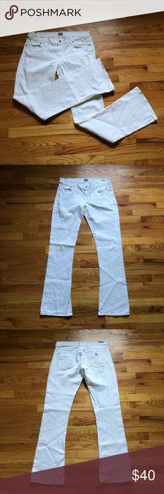 54fafa74e45 COH Morrison Slim Boot Cut Jeans White Size 31 Citizens of Humanity Size 31  Morrison Slim