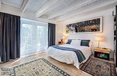 The great advantage of this three-level home is that you can access the workspace from the street without disturbing those upstairs Light Well, Level Homes, Sloped Ceiling, Skylight, Condo, Lofts, Bedroom, Live, Den
