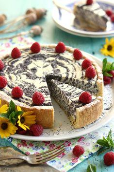 Juditka konyhája: ~ TÚRÓS - MÁKOS TORTA ~ Cottage Cheese, Sweet Life, Macarons, Vegan Vegetarian, Banana Bread, French Toast, Cheesecake, Dinner Recipes, Food And Drink